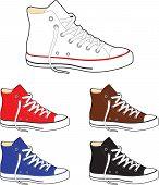 Sneakers (gumshoes)