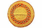 Cover From A Basket Weaved From Algas