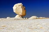 Rock In The White Desert