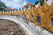 Columbarium In Wat Plai Laem