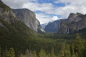 Tunnel View, Yosemite National Park, California, Usa
