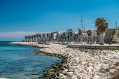stock photo of mola  - Travel destination in the south of italy Apulia region Mola di Bari - JPG