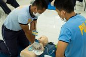 CPR training for paramedics