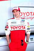 LOS ANGELES - APR 9:  Jackson Rathbone at the Toyota ProCeleb Race Press Day 2013 at the Toyoto Gran
