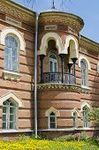 IRKUTSK, RUSSIA - MAY,30 2012: The building in the Moorish style after restoration in May,30 2012 in