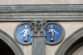 Piazza della Santissima Annunziata in Florence