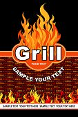 stock photo of bonfire  - Grill - JPG