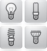 stock photo of fluorescent  - Office Supply (objects tools) from left to right top to bottom: 