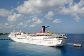 Carnival Fantasy Cruise Ship In Nassau