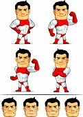 Superhero Mascot