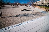 Washington Dc - Circa April 2013: Pentagon Memorial Circa June 2013 In Washington Dc, Usa. Permanent