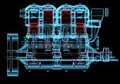 picture of combustion  - Internal combustion engine  - JPG