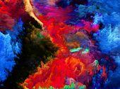 Colorful Fractal Paint