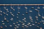 Sailboats – Aerial View