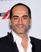 LOS ANGELES - OCT 21:  Navid Negahban arrives to Hollywood Film Awards Gala 2013  on October 21, 201
