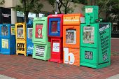 City Newspaper Boxes