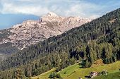 The Serles in the Stubai Valley