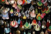 Dangling earrings