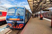 Nizhny Novgorod, Russian Railroad Terminal