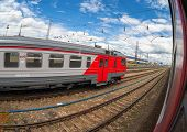 Nizhny Novgorod, Russia -  Platforms In Moskovsky Rail Terminal