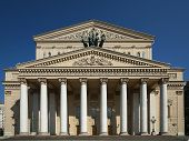 The Bolshoi Theatre a historic theatre in Moscow, Russia