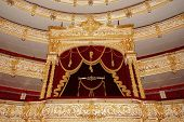 The Bolshoi Theatre a historic theatre of ballet and opera in Moscow, Russia