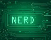 Nerd Concept.