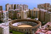Malaga arena over view