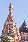 Domes Of Saint Vasiliy Beatific