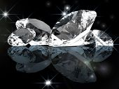 luxury diamond background