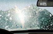 foto of ice-scraper  - Winter driving  - JPG