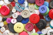 Buttons Rainbow Of Round