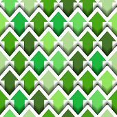Green Arrows Seamless background