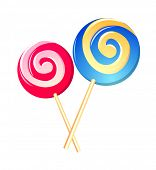 vector icon lollipop
