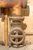 Old Valve And Pipes
