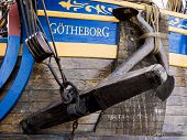LULEA SWEDEN - AUGUST 23: Swedish ship Gotheborg