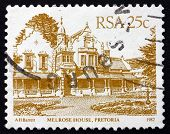 Postage Stamp South Africa 1982 Melrose House, Pretoria