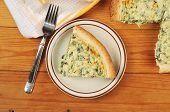 Slice Of Spinach Quiche