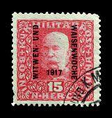 Austria stamp1917