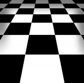 Illustration Of Chess-board