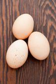Three Free Range Eggs