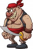 foto of pirate sword  - Cartoon pirate - JPG