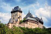 royal castle Karlstejn, Czech Republic