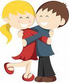 Hugging Kids