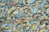 Pebbles At The Beach