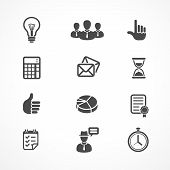 Vector Office and Business icons set