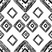 hand drawn geometric pattern