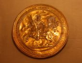 Old Gold Coin In Vatican Museum