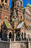 Entrance To The Church Of The Savior On Blood, St Petersburg
