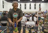 Traditional Hopi Kachina Doll Artist Showing Work